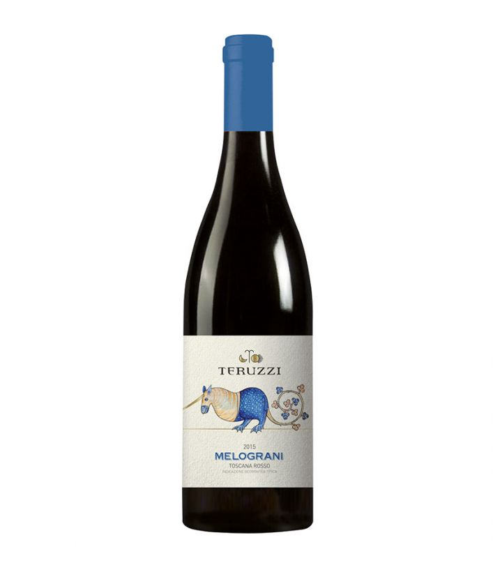 Melograni - Teruzzi - Toscana Rosso IGT - 2015 - 0,75 lt