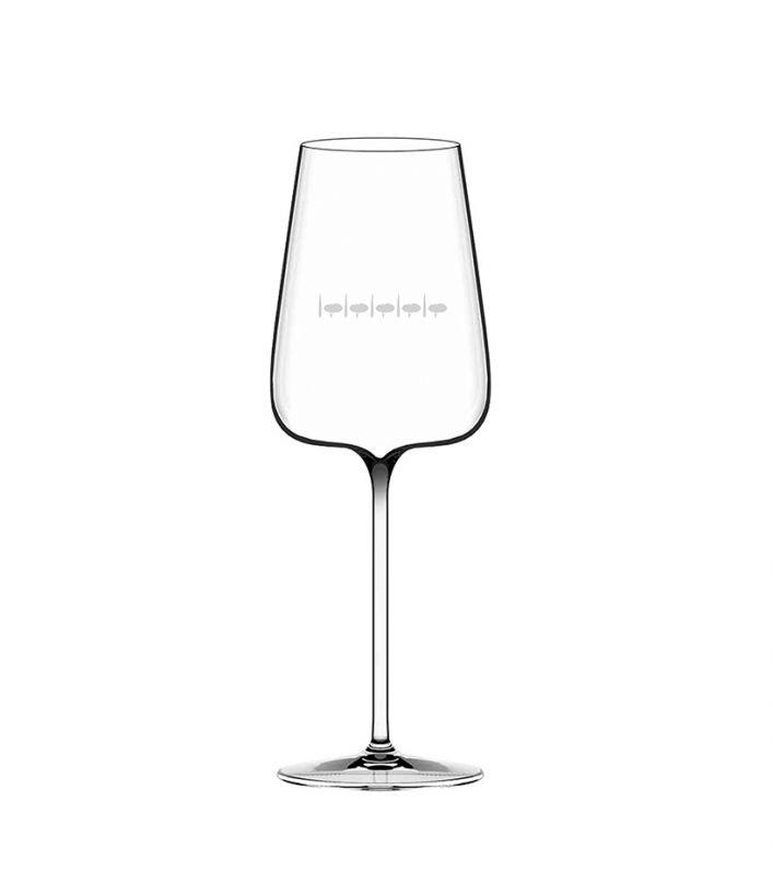 Etoilé Blanc Glasses - Acquagiusta